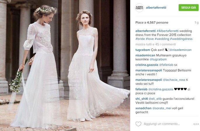 Foto via Instagram.com/albertaferretti