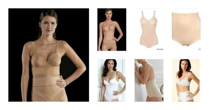 Shape di due importanti aziende di Lingerie. Foto: www.laperla.com e www.playtex.it