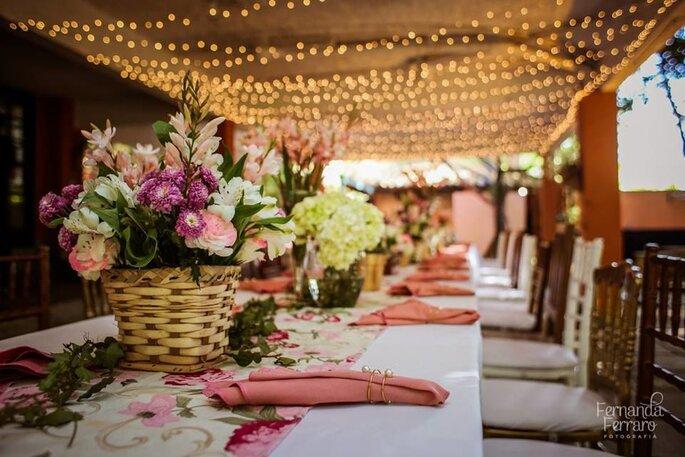 Como decorar o meu casamento em 5 passos