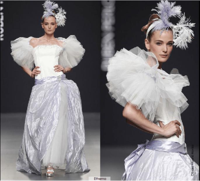 Vestido Etherna, colección 2012 Rubén Perlotti