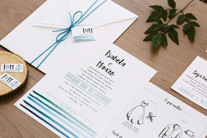 Como escolher os convites do meu casamento em 5 passos