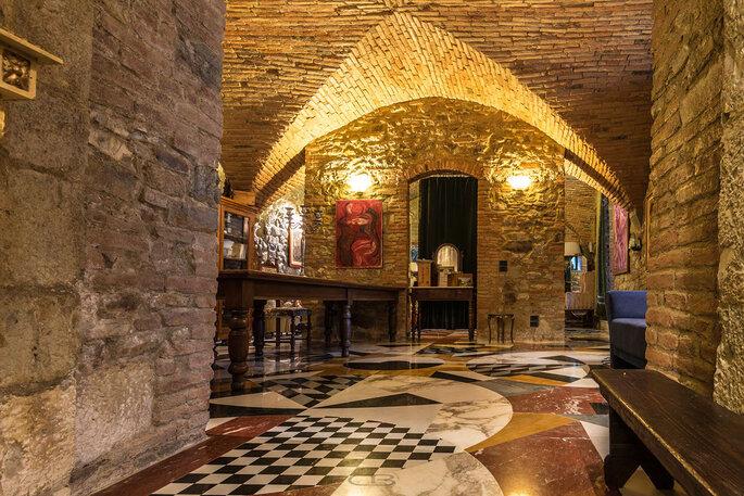 Interni della location per matrimoni a pochi km da Firenze