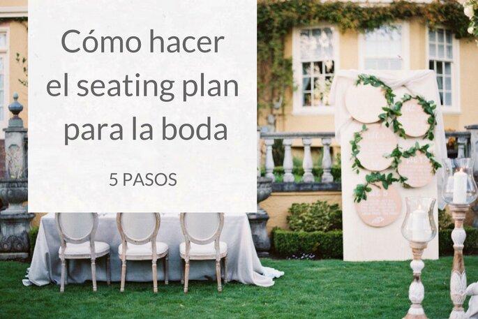cómo hacer el seating plan para el matrimonio? ¡sencillos trucos