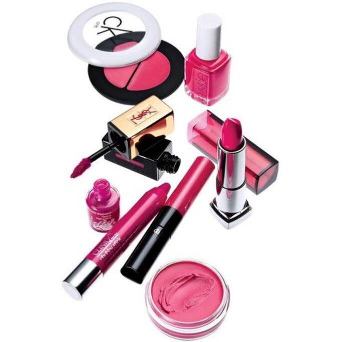 Le maquillage rose fuchsia : une tendance 2013 - Photo Brides Facebook
