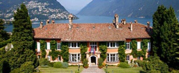 Leopoldo Hotel & Spa in Lugano für Ihre Hochzeit in Lugano. Foto: Webseite Leopoldo Hotel
