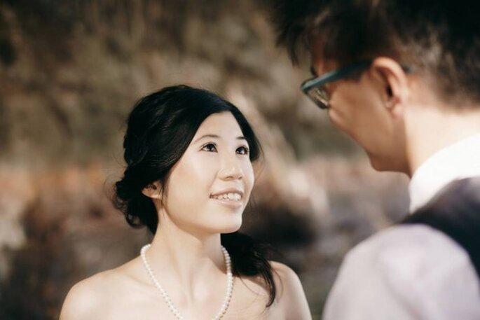 Crea un halo de magia y encanto con tu maquillaje de novia - Foto Sox Teng Makeup