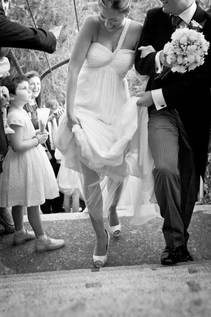 La sortie des mariés : un moment magique ! - Photo : Adrian Tomadin