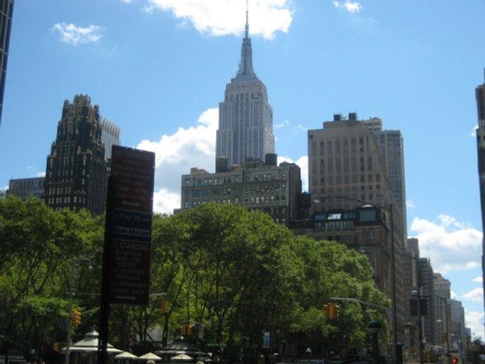 Flitterwochen für moderne Paare: New York. Foto: Barbara Yaa / Pixelio.de
