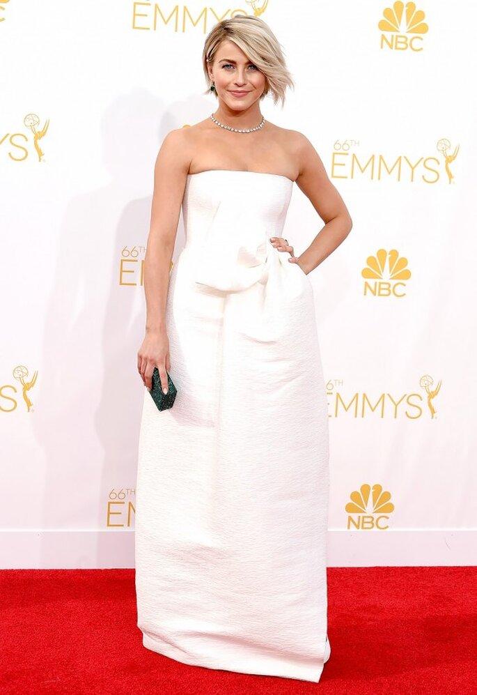 Julianne Hough en la red carpet de los Emmys 2014 - Foto Dsquared2