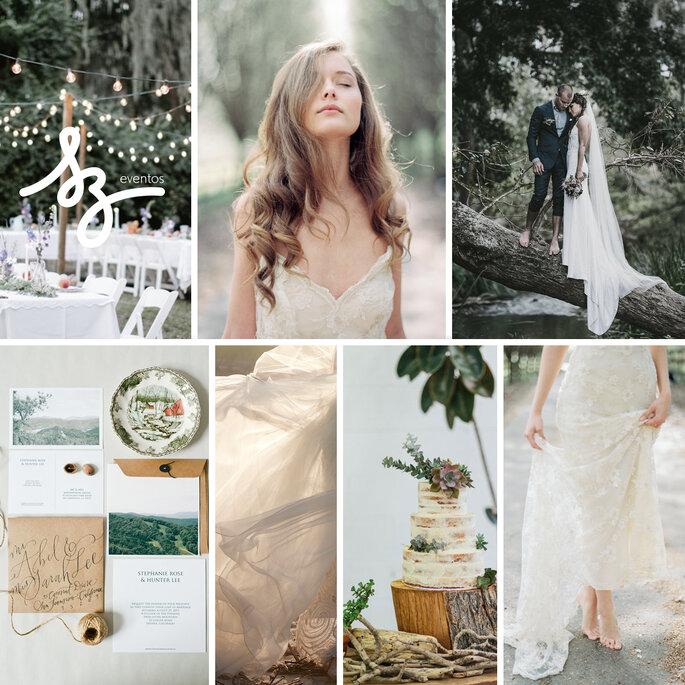 Una boda inspirada en la belleza de la naturaleza - Serena Jae, Devon Donahoo Photography, Diego Uchitel, Hazel Wonderland