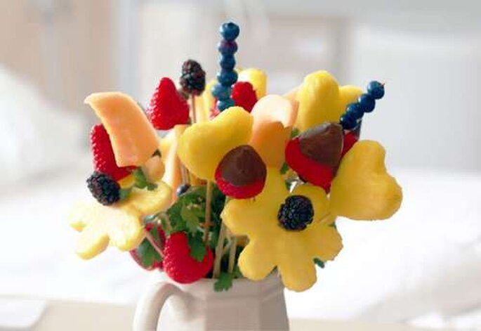 Bouquet de fruits frais
