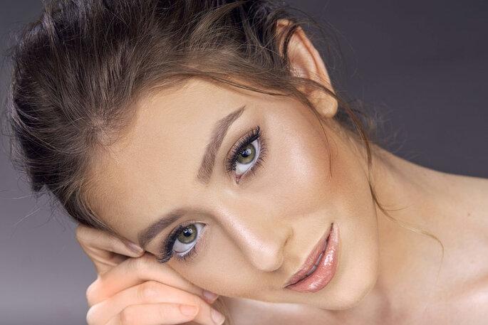 make up noiva natural