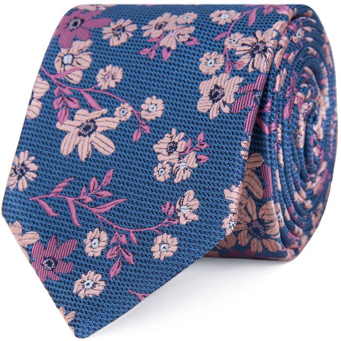 Dastan, Krawat Twig Flower Navy