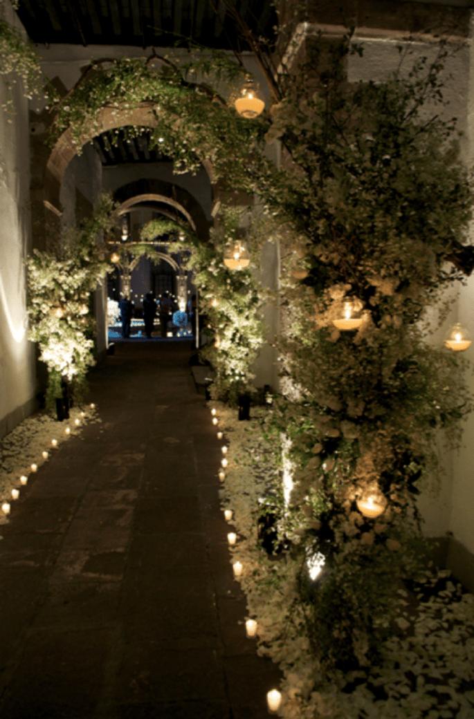 Armoniza la ambientación con luz de velas - Foto Taller de Tallos