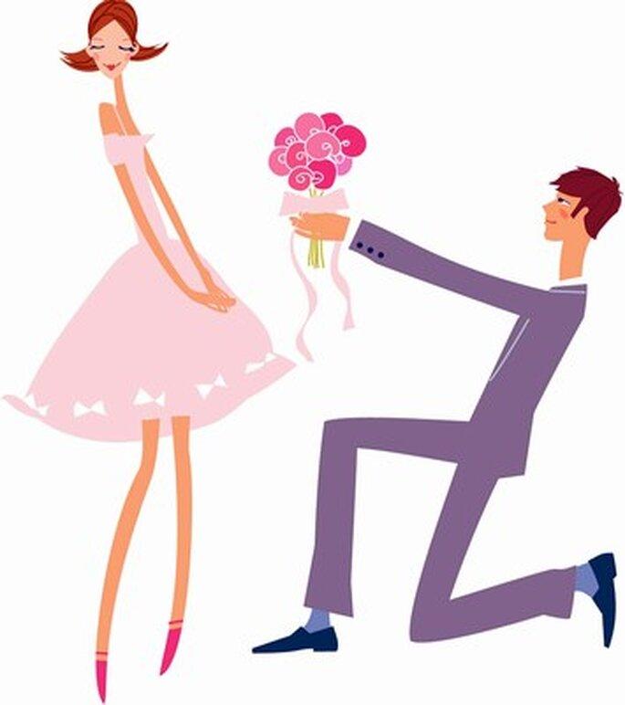 La demande en mariage : un moment magique...