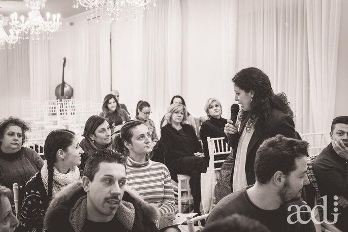 Il coinvolgimento del pubblico in sala - Foto by AEDI Studio