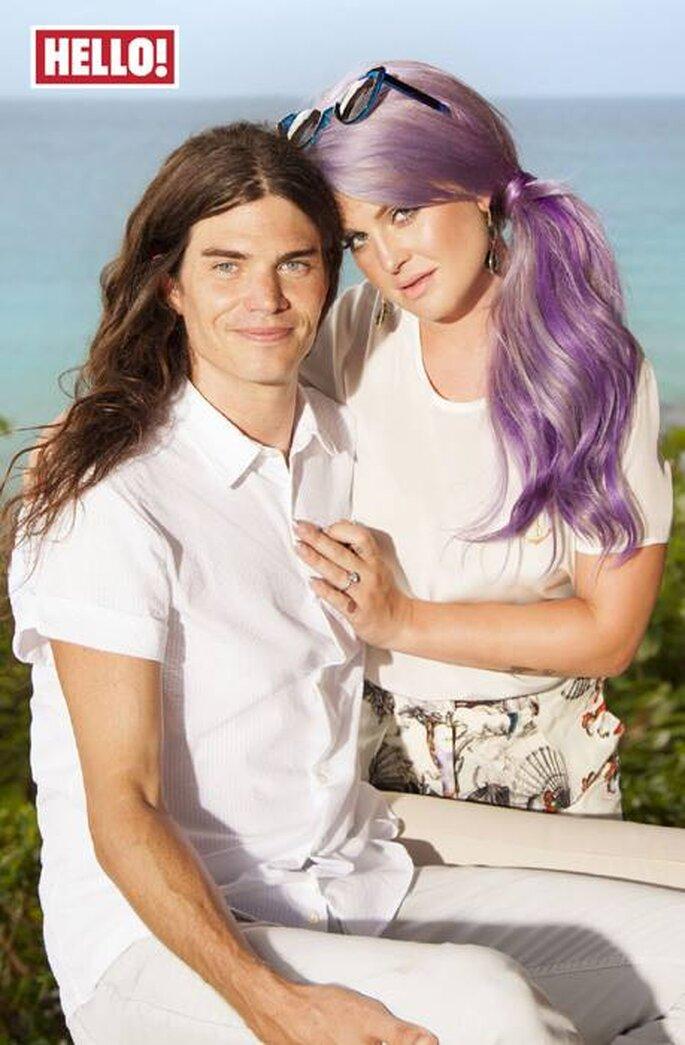 Kelly Osbourne se comprometió con Matthew Mosshart - Foto Hello! Magazine Facebook