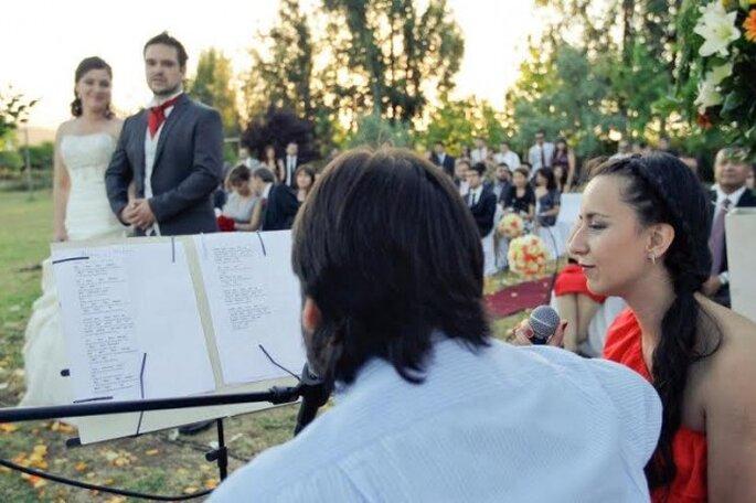 """El grupo """"Más que dos"""" se encarga de entregar emotividad a través de la música. Foto: Felipe Reyes"""