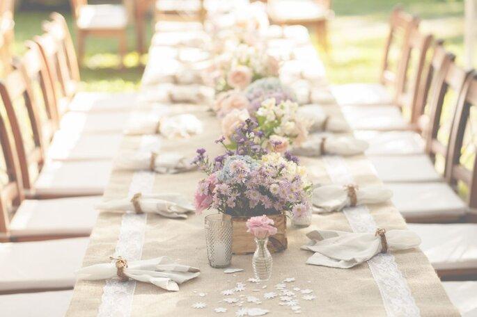 decoração floral casamento