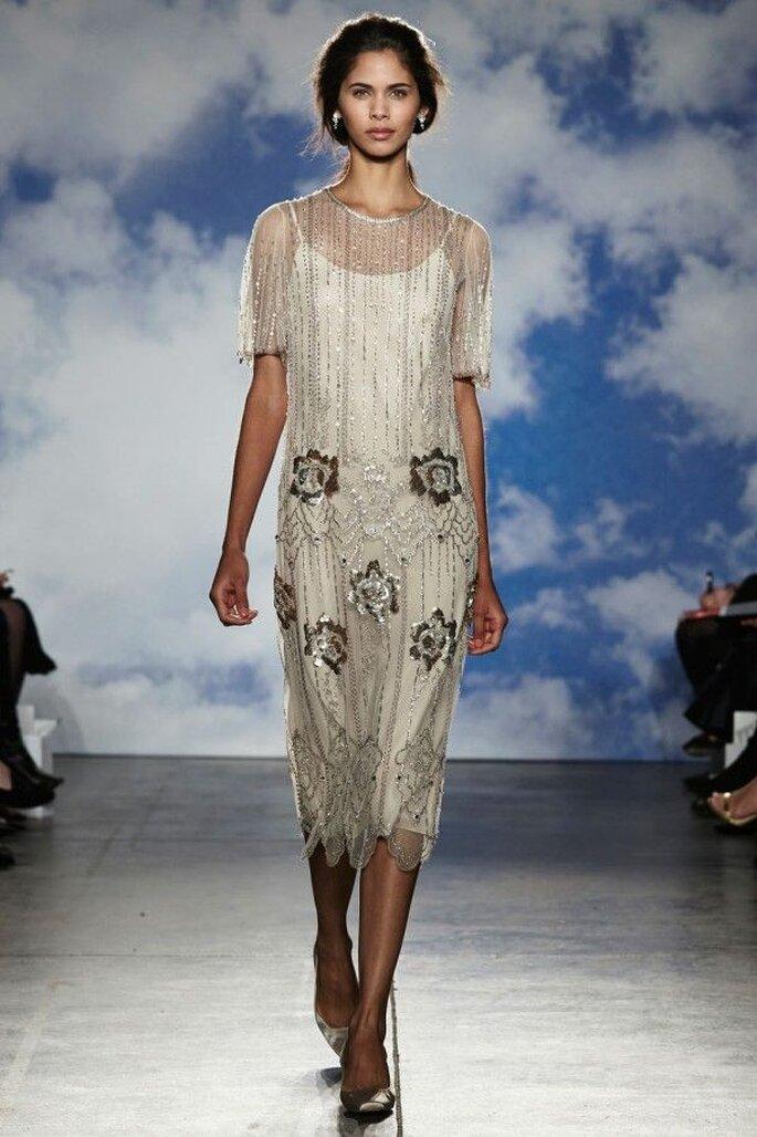 Vestidos de novia poco convencionales para las más fashionistas - Foto Jenny Packham