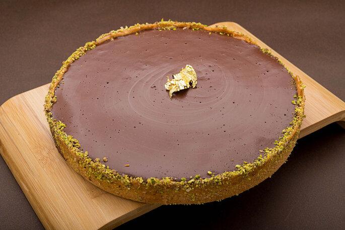 Tarte au chocolat et sa pâte sablée