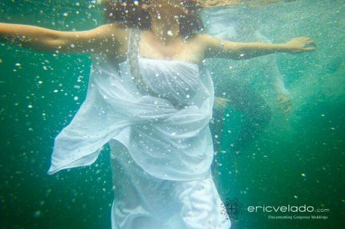 Braut unter Wasser! - Foto: Eric Velado