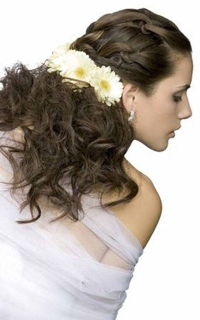 Recogido de novia campestre - Webnovias.com