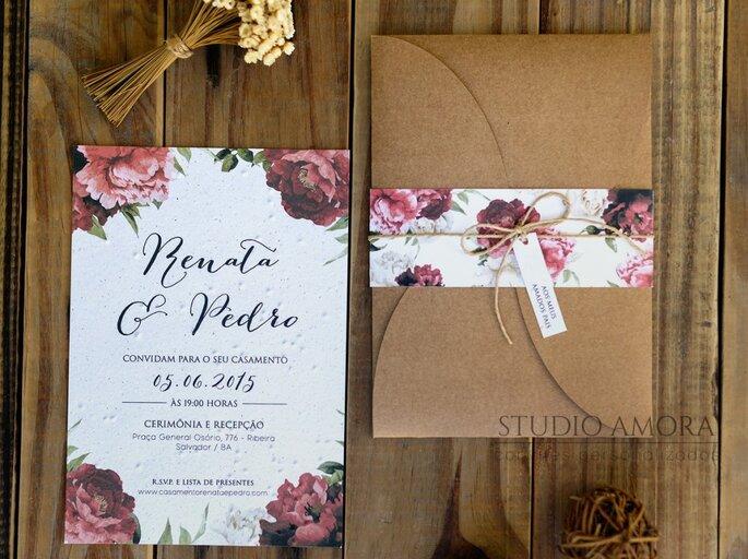 convite-de-casamento-rustico-floral-decoracao-casamento