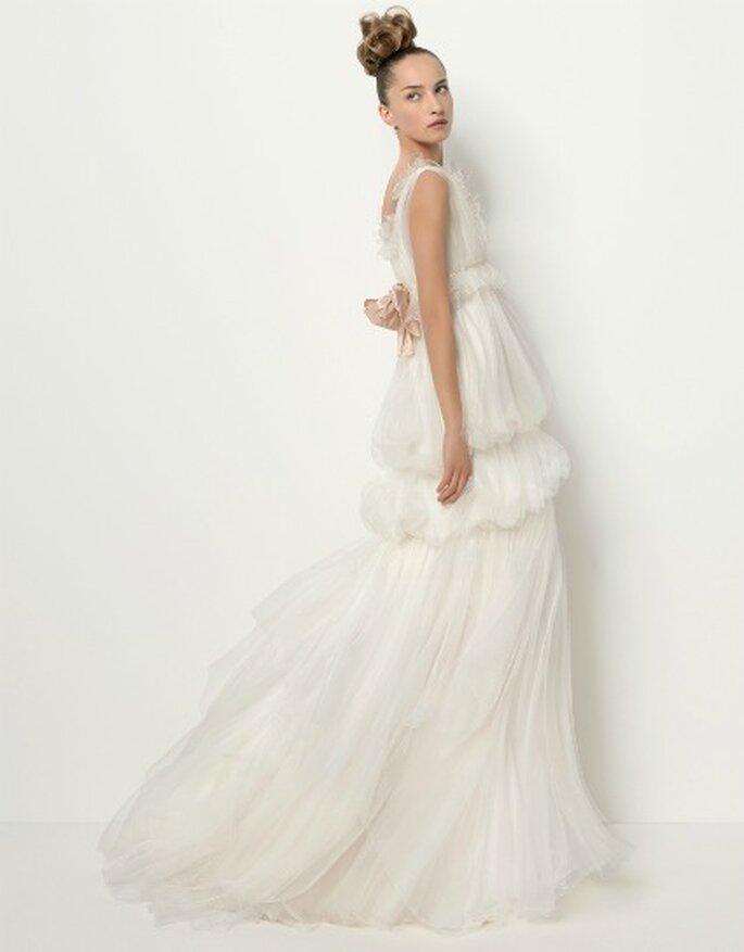 Robe de mariée de Sophie signée Christian Lacroix Mod. TAPIZ 106 collection 2011