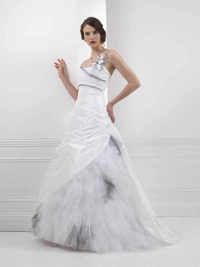 Robe de mariée Houston : au top pour les femmes romantiques - Créations Bochet