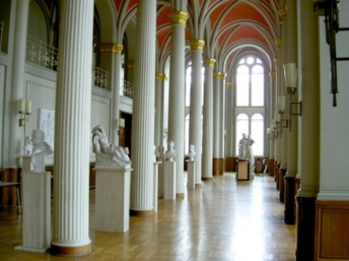 Heiraten in Berlin - Säulensaal im Roten Rathaus