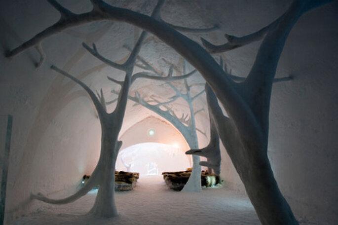 Capilla de hielo del Icehotel (Suecia)