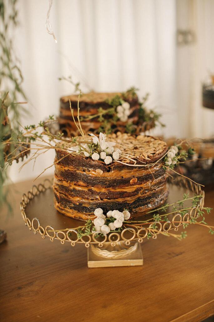 Bolo: Brownie da Cau - Foto: Aloha Fotografia