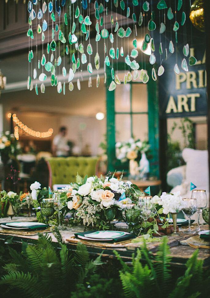 Una idea genial para que tu boda luzca perfecta desde cualquier perspectiva - Foto Paige Lowe Photography
