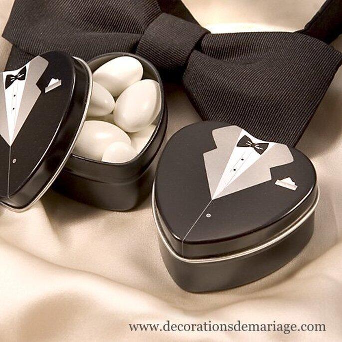 """Boîte de dragées """"costume"""" Décorations de mariage"""
