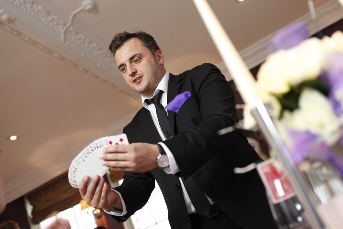 Foto- Close up magician