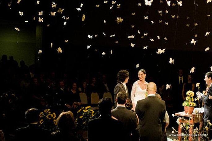 Y las mariposas volaron. FOTO: Renatodpaula