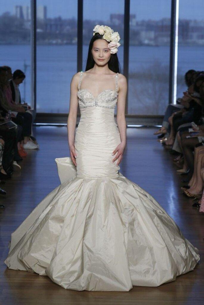 Vestidos de novia 2015 con corte sirena reinventado - Ines Di Santo