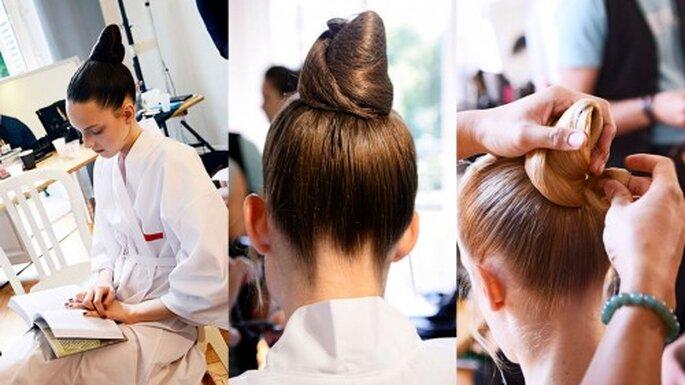 Peinados a prueba de aburrimiento para boda - Foto Valentino Couture