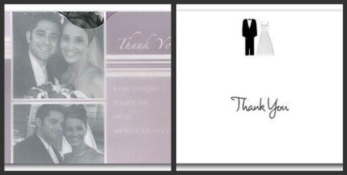 Sorprenda a los invitados a la boda con tarjetas de agradecimiento