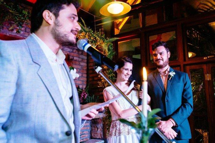 Cerimônia irmãos noivos