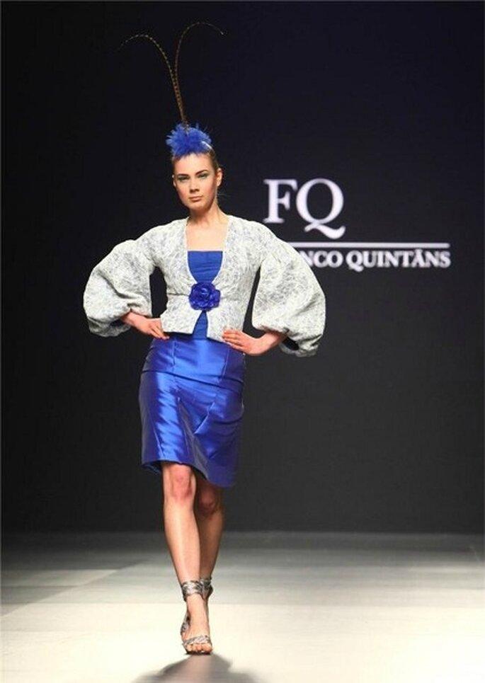 Mariposa en azul - Colección Franco Quintas 2012