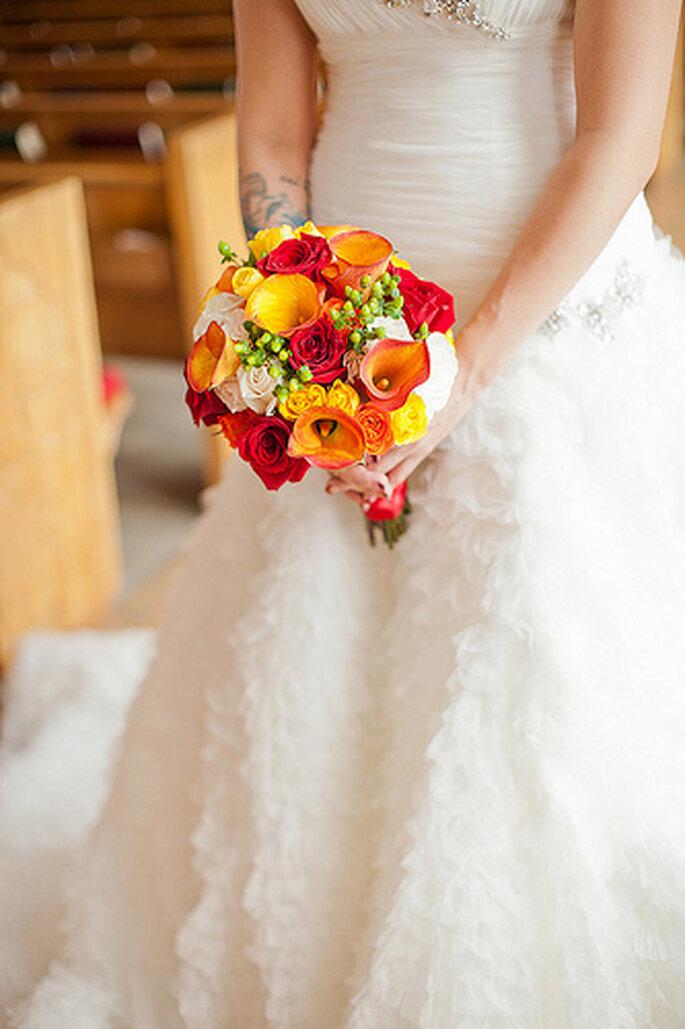 Klassisch: Brautsträuße einmal ganz traditionell kreiert