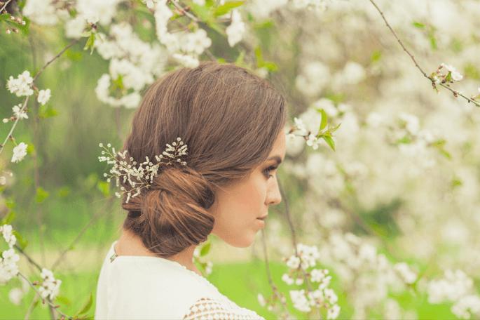 Die Schonsten Frisuren Mit Schleierkraut Fur Die Hochzeit
