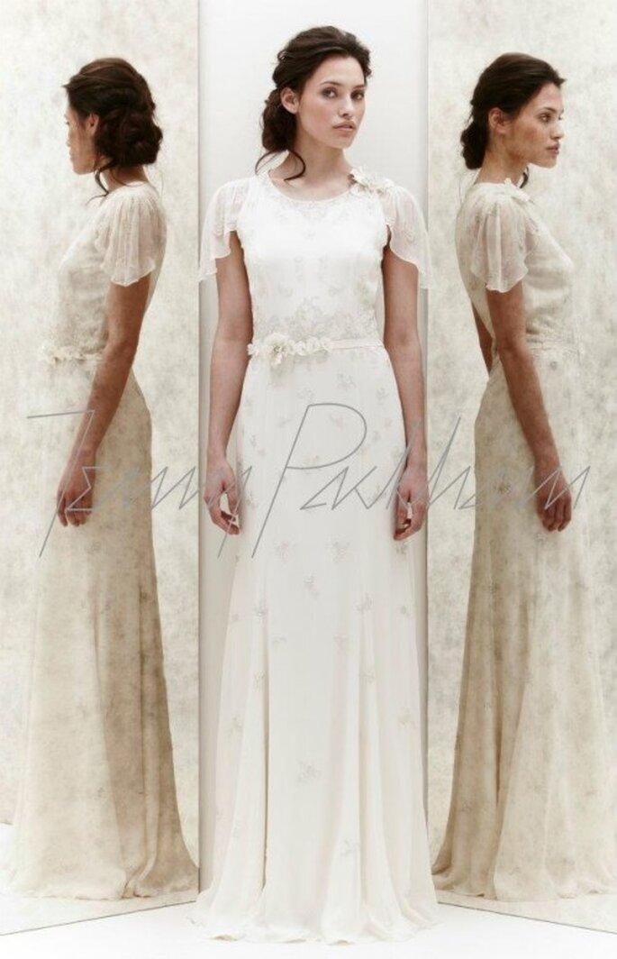 Vestido de novia con detalles delicados - Foto Jenny Packham