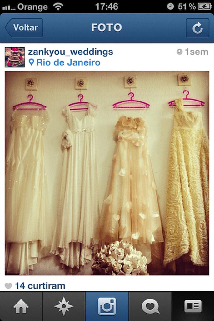 Vestidos de noiva da Carol Hungria no Instagram do Zankyou