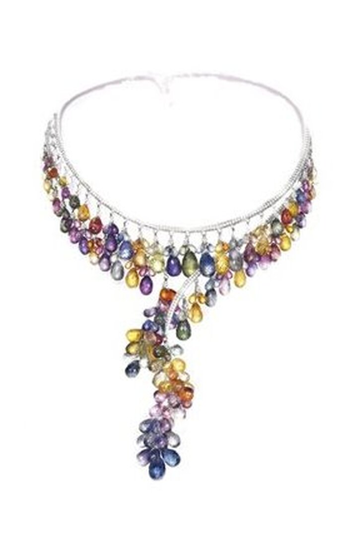 Collar multicolor de Chopard