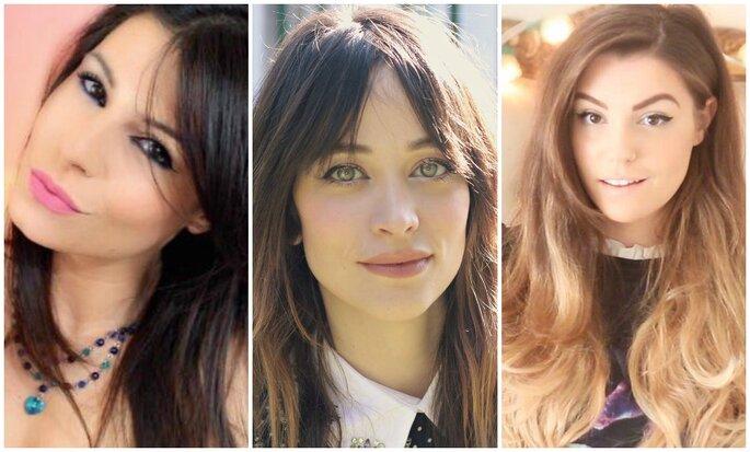 Da sinistra: Nadia Tempest, Sistiana, CutiePieMarzia