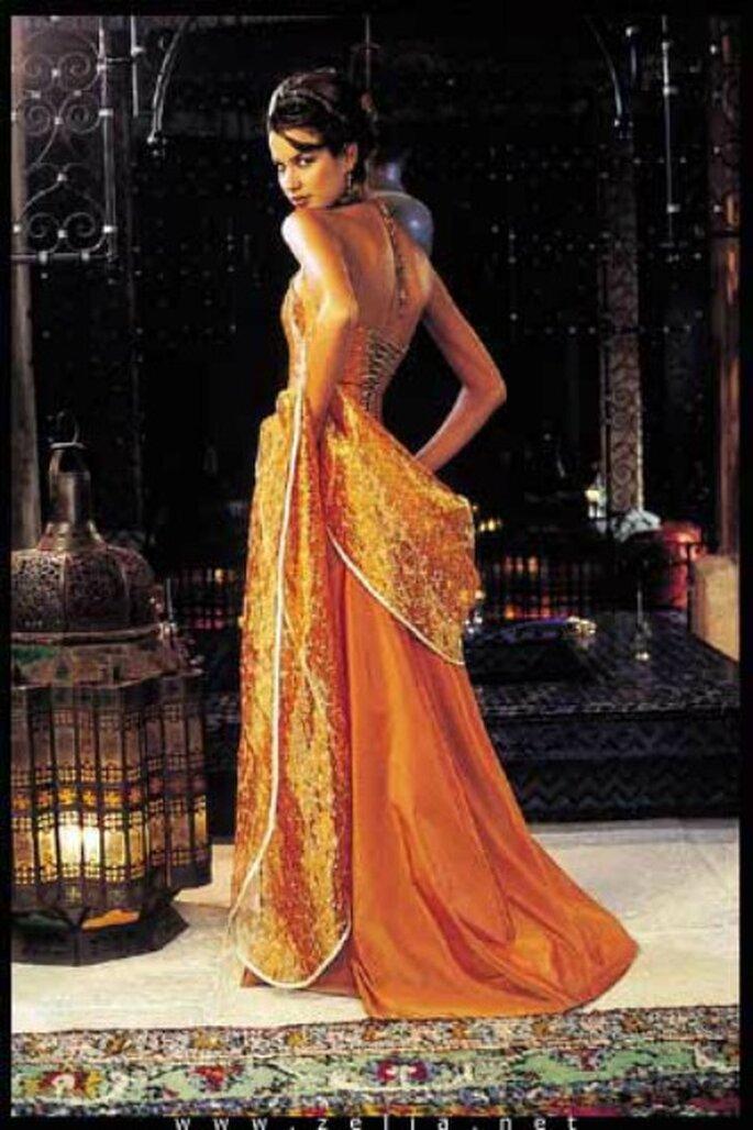 Robe de mariée Zélia sur la Terre comme au Ciel, modèle La Jasmine