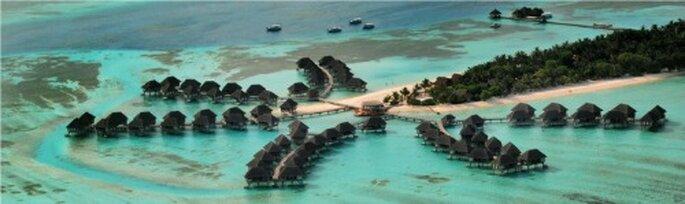 Per la vostra luna di miele, che ne dite di Kani, favolosa isola dell'Oceano Indiano? Foto: Club Med